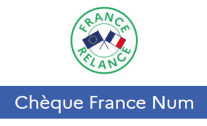 logo chèque France Num